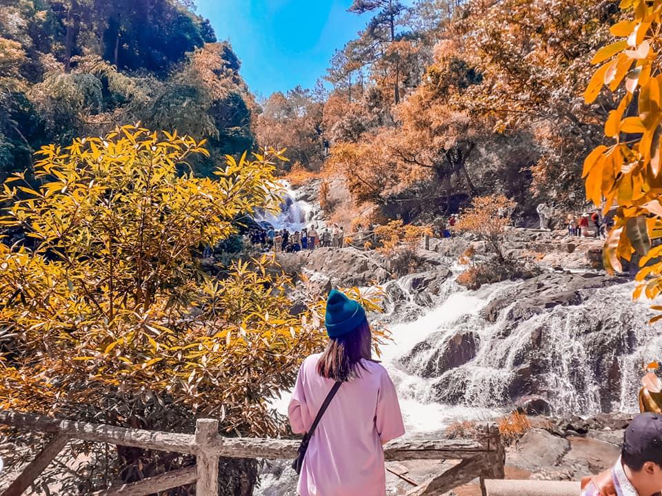 Góc chụp hình thần thánh tại thác Datanla Đà Lạt