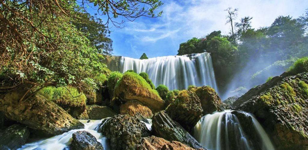 Tour ngoại thành Đà Lạt 1 ngày Thác Voi Chùa Linh Ẩn