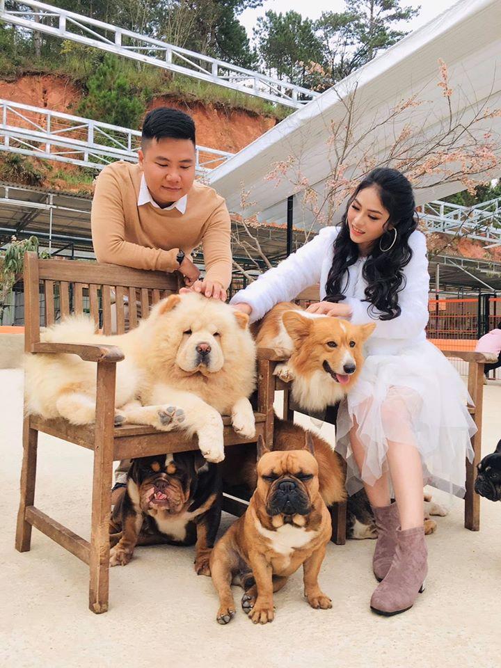 Những chú chó thân thiện, siêu cute tại Nông trại cún Puppy farm Đà Lạt