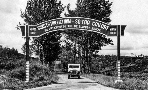 Nhà máy chè cổ Cầu Đất Đà Lạt từ những năm 1927. Nguồn ảnh: che-sach.com