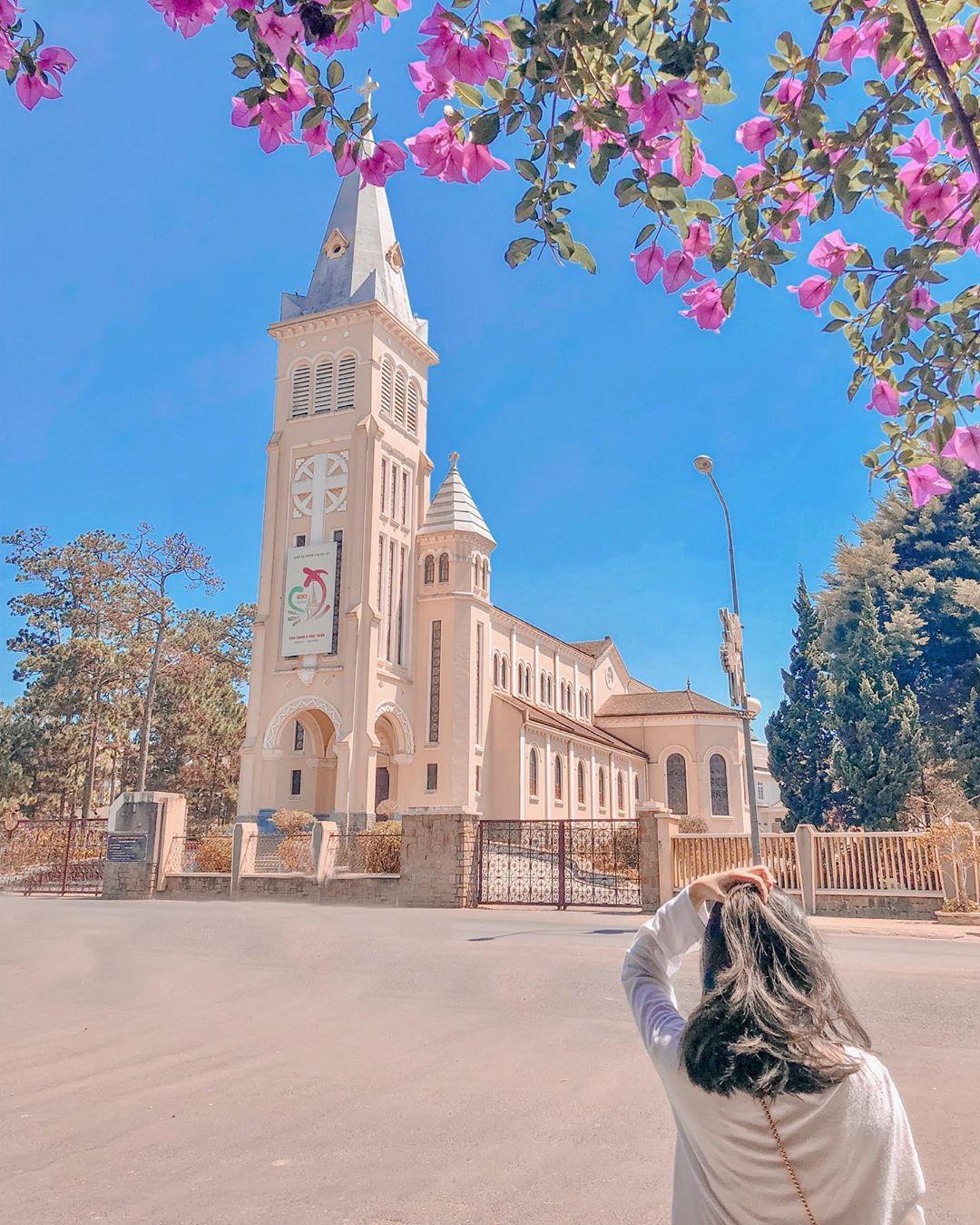Nhà thờ Chánh Tòa Đà Lạt.