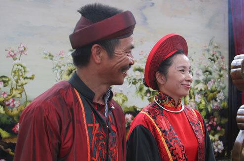 Vợ chồng nghệ sĩ Võ Văn Quân và Hoàng Lệ Xuân - chủ nhân của XQ Đà Lạt.