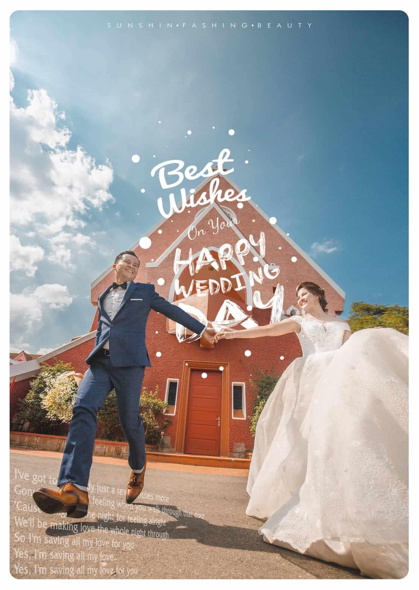 Nhà thờ Domain de Marie Đà Lạt còn là địa điểm chụp hình cưới nổi tiếng.