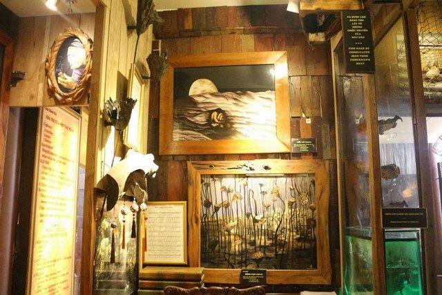 Một góc trưng bày tại XQ Đà Lạt.