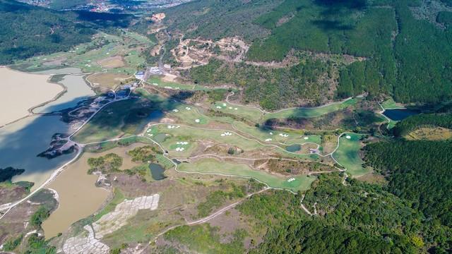 Bản đồ sân golf Đà Lạt 1200.