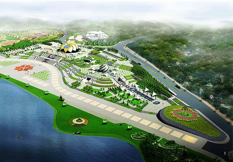 Quảng trường Lâm Viên Đà Lạt ngay trung tâm thành phố mộng mơ.